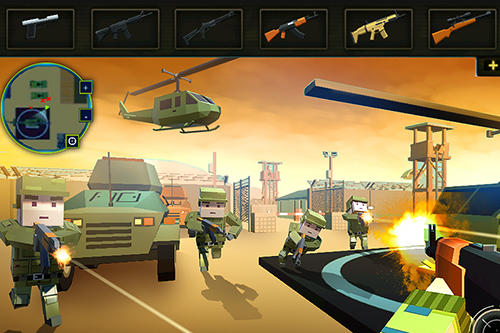 Jogos de ação Survival strike force open world elite para smartphone