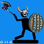 The stickman vikings icon