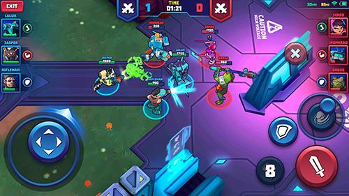 Space Brawls: 3v3 battle arena für Android