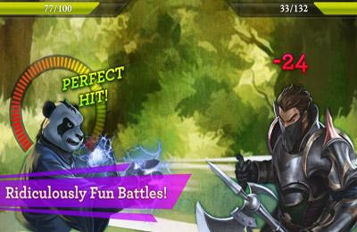 Screenshot Legenden von Chaos auf dem iPhone