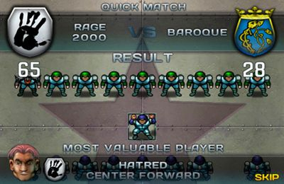 Arcade-Spiele: Lade Speedball 2 Evolution auf dein Handy herunter