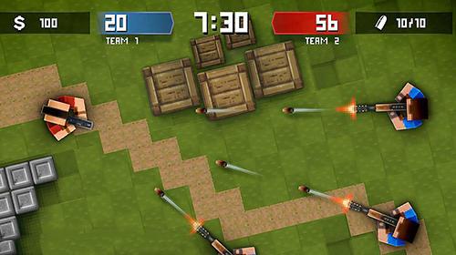 Shooters Pixels vs blocks: Online PvP auf Deutsch