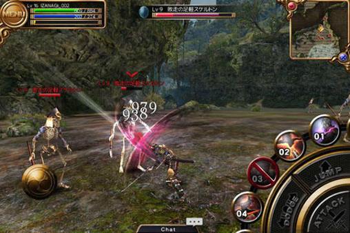 RPG Izanagi online für das Smartphone