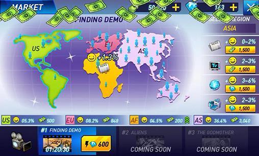 Arcade-Spiele Hollywood paradise für das Smartphone