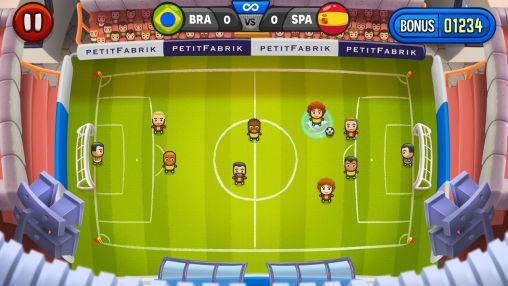 Fußball Mini champions auf Deutsch