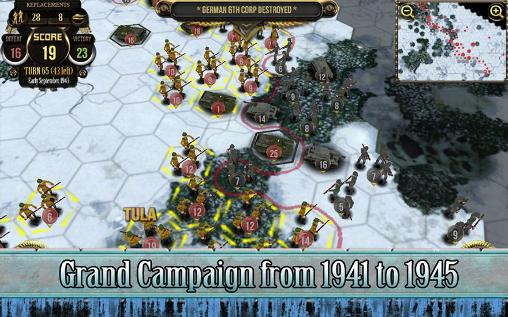 Strategy games Russian front for smartphone