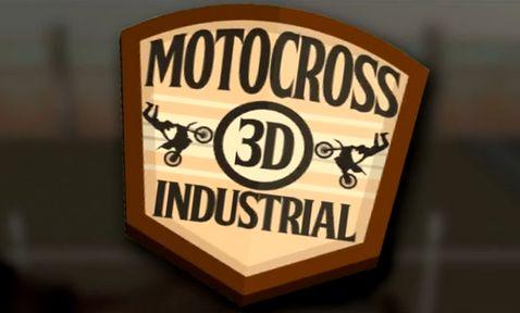 logo 3D motocross: Industriel
