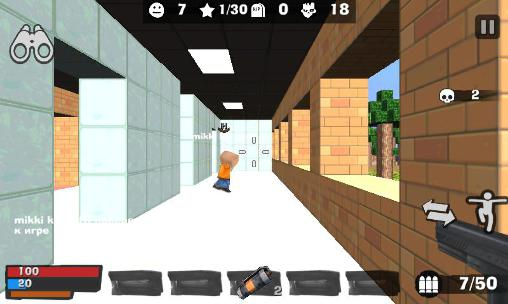 KBZ 2. Cube madness: Zombie war 2 für Android