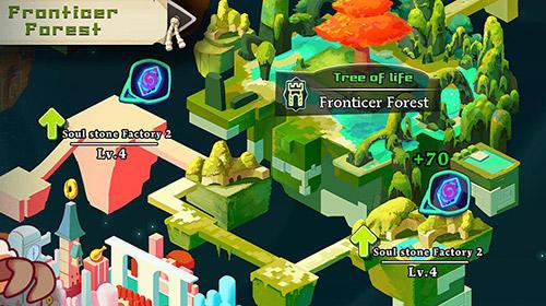 RPG-Spiele Legend guardians: Mighty heroes. Action RPG für das Smartphone