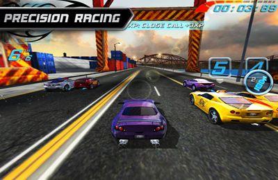 Screenshot Rennen ohne Bremsen auf dem iPhone