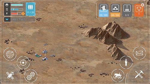 Space frontiers: Dawn of Mars Screenshot