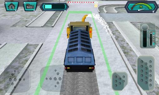 Snow blower: Truck sim 3D auf Deutsch