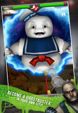 Simulation games: download Ghostbusters Paranormal Blast to your phone