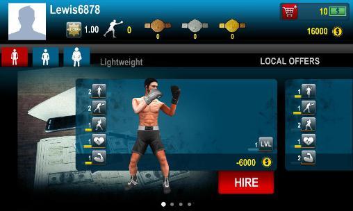 Kampfspiele World boxing challenge für das Smartphone