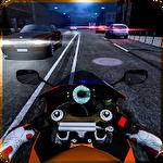 Highway motorbike rider ícone