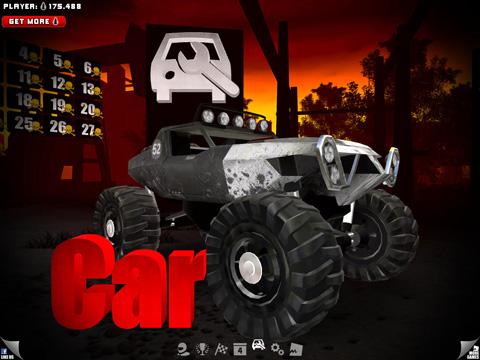 Rennspiele: Lade Uber Racer 3D Monster Truck: Alptraum auf dein Handy herunter
