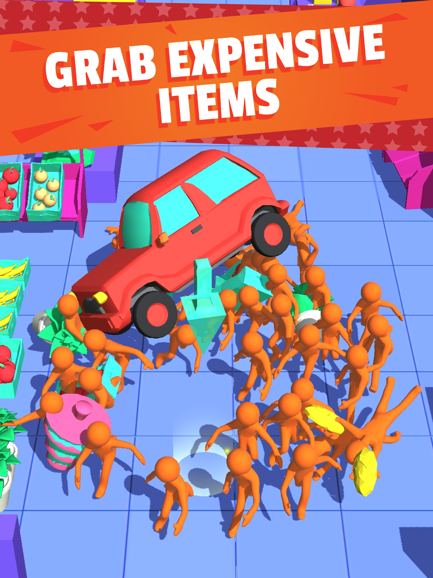 Android game Crazy Shopping free