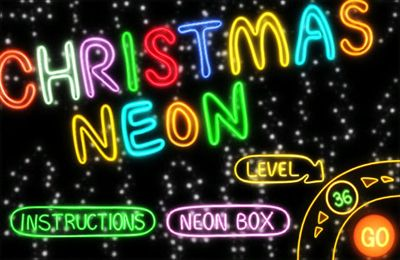 logo Neón de Navidad