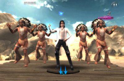 Screenshot Michael Jackson: Das Erlebniss auf dem iPhone