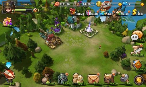 RPG Storm age pour smartphone