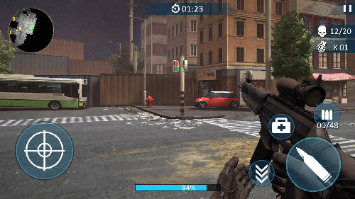 Counter fort invader: CS shooting para Android