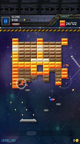 Brick breaker star: Space king screenshot 2
