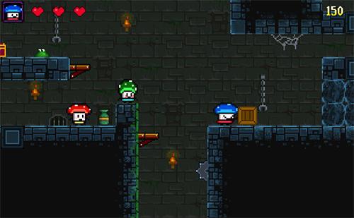 Mushroom heroes für Android
