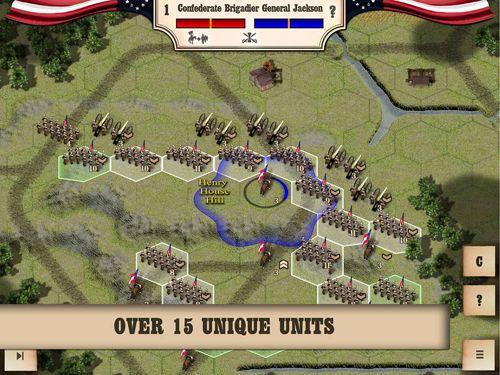 Bürgerkrieg: Bull Run 1861 auf Deutsch