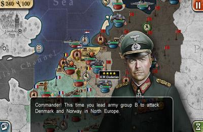 截图世界征服者2在iPhone