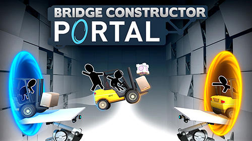 Bridge constructor portal captura de pantalla 1