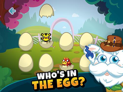 Arcade-Spiele Moshi monsters egg hunt für das Smartphone