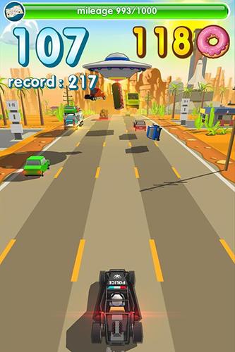 Arcade Hunger cops: Race for donuts für das Smartphone