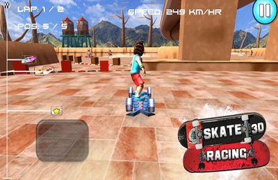 Rennspiele: Lade Skate Rennen 3D (Kostenlose Rennenspiele) auf dein Handy herunter