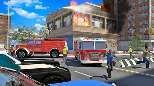 Fire truck simulator 2019 pour Android