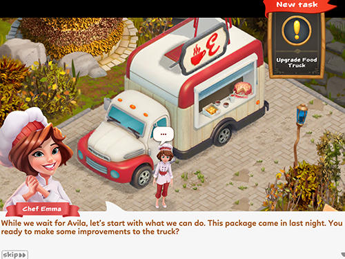 Chef Emma: Tasty travels Screenshot