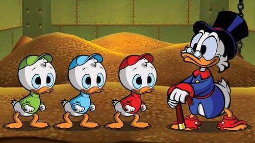 Arcade-Spiele: Lade Duck Tales: Remastered auf dein Handy herunter