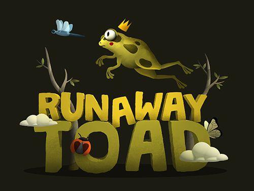 логотип Побег лягушонка