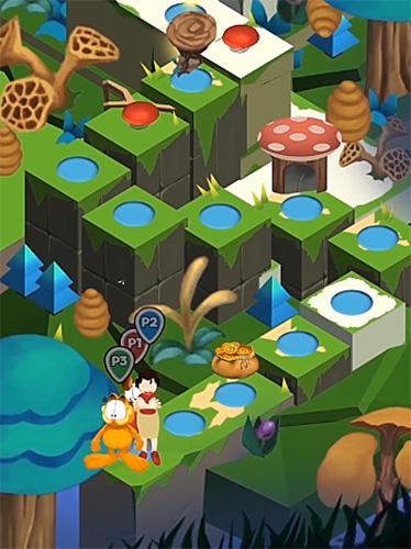 Garfield dice rush для Android