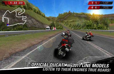 Screenshot Ducati Meisterschaft auf dem iPhone