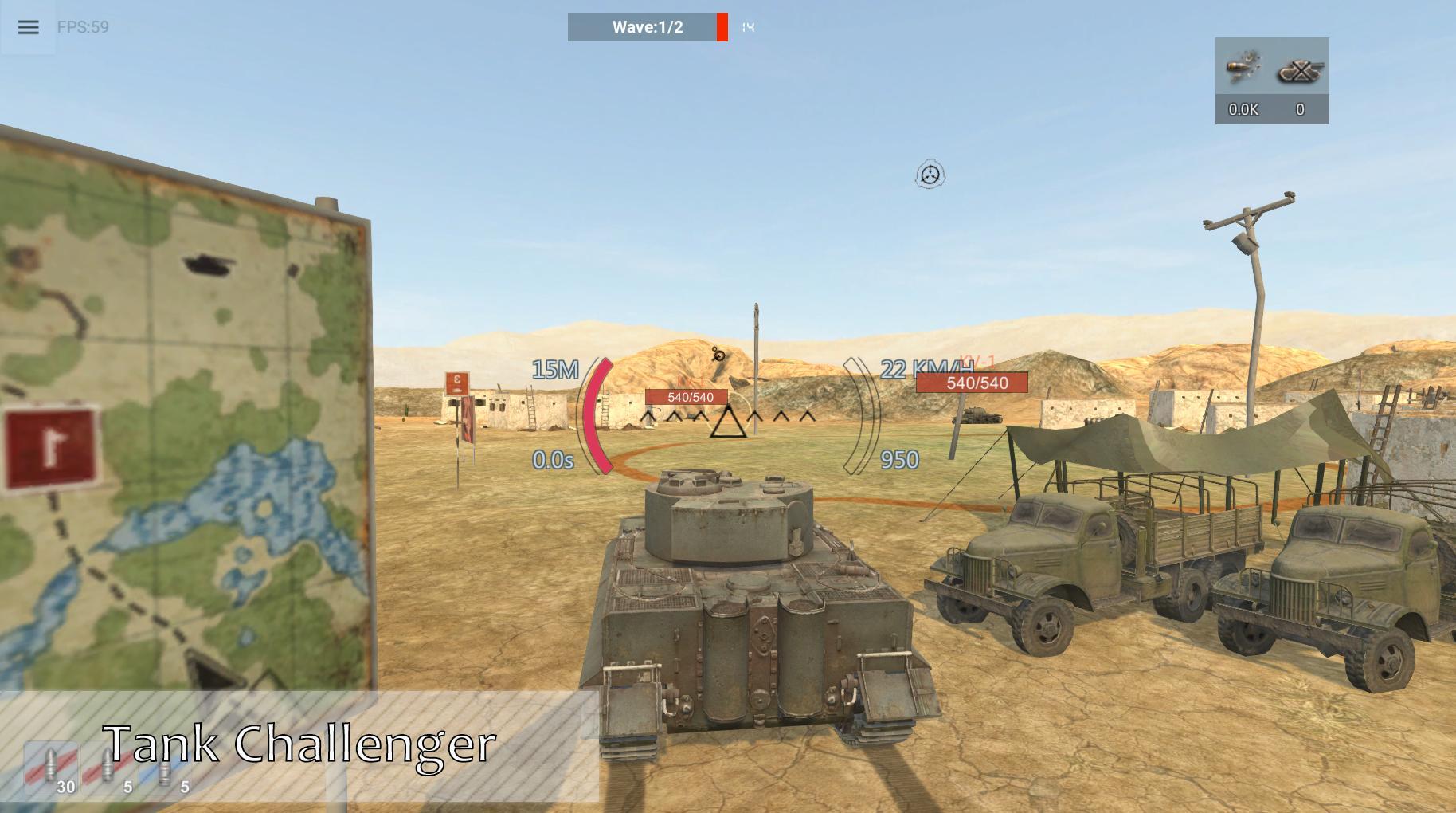 Panzer War para Android