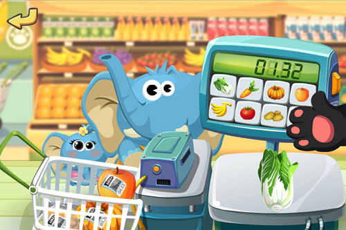 Supermercado del Dr. Panda para iPhone gratis