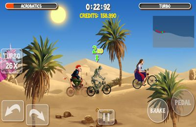 Screenshot Verrückte Biker 2 auf dem iPhone