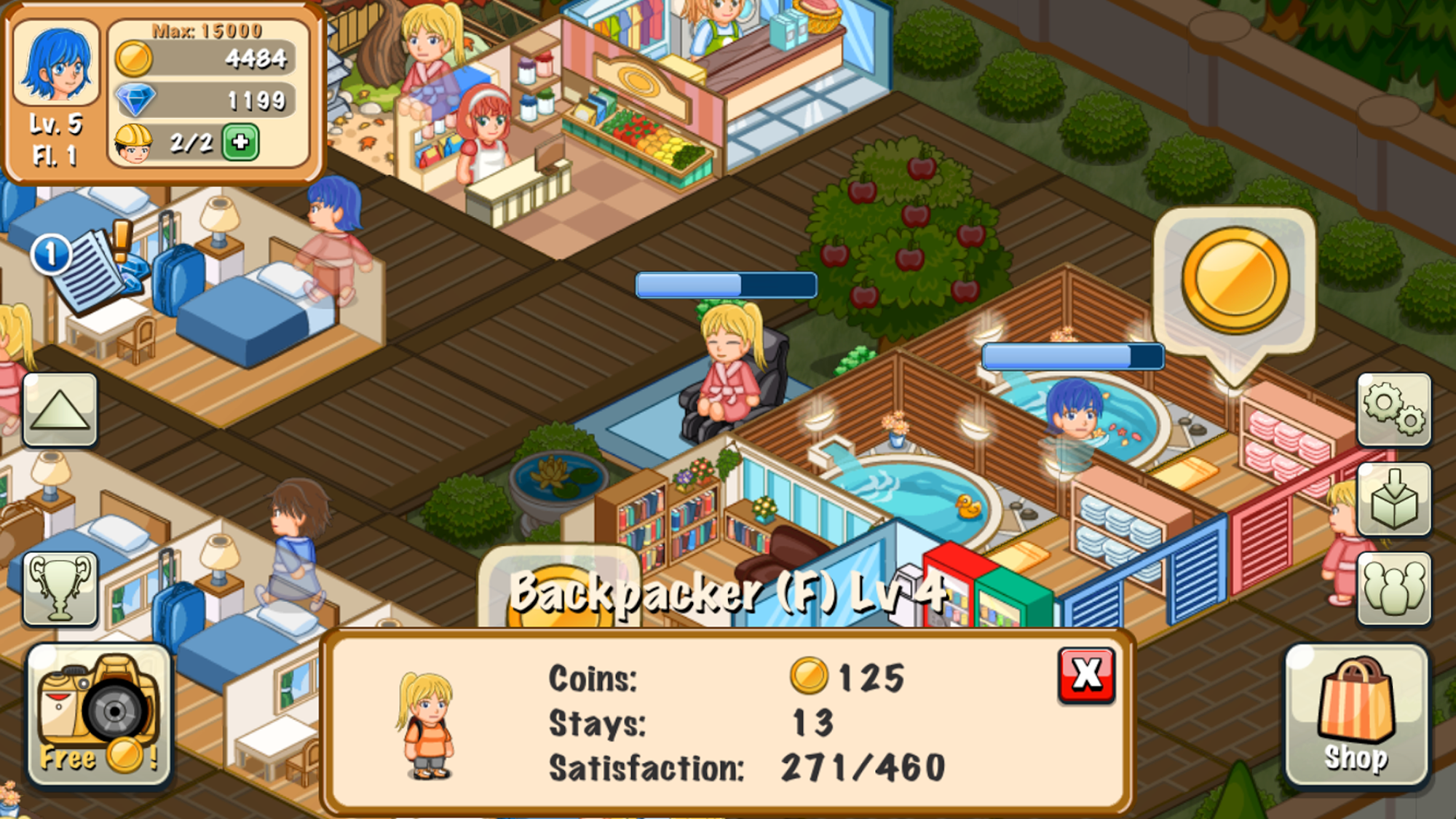 Hotel Story: Resort Simulation