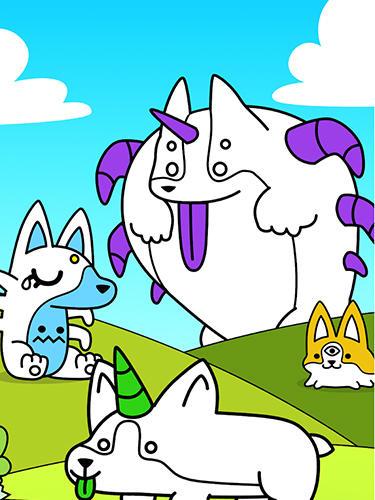Corgi evolution: Merge and create royal dogs auf Deutsch