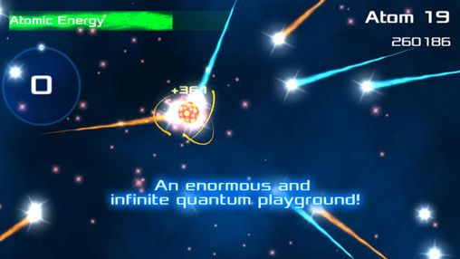 Screenshot Atomic fusion: Particle collider on iPhone