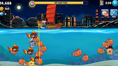 Arcade Angel fish für das Smartphone