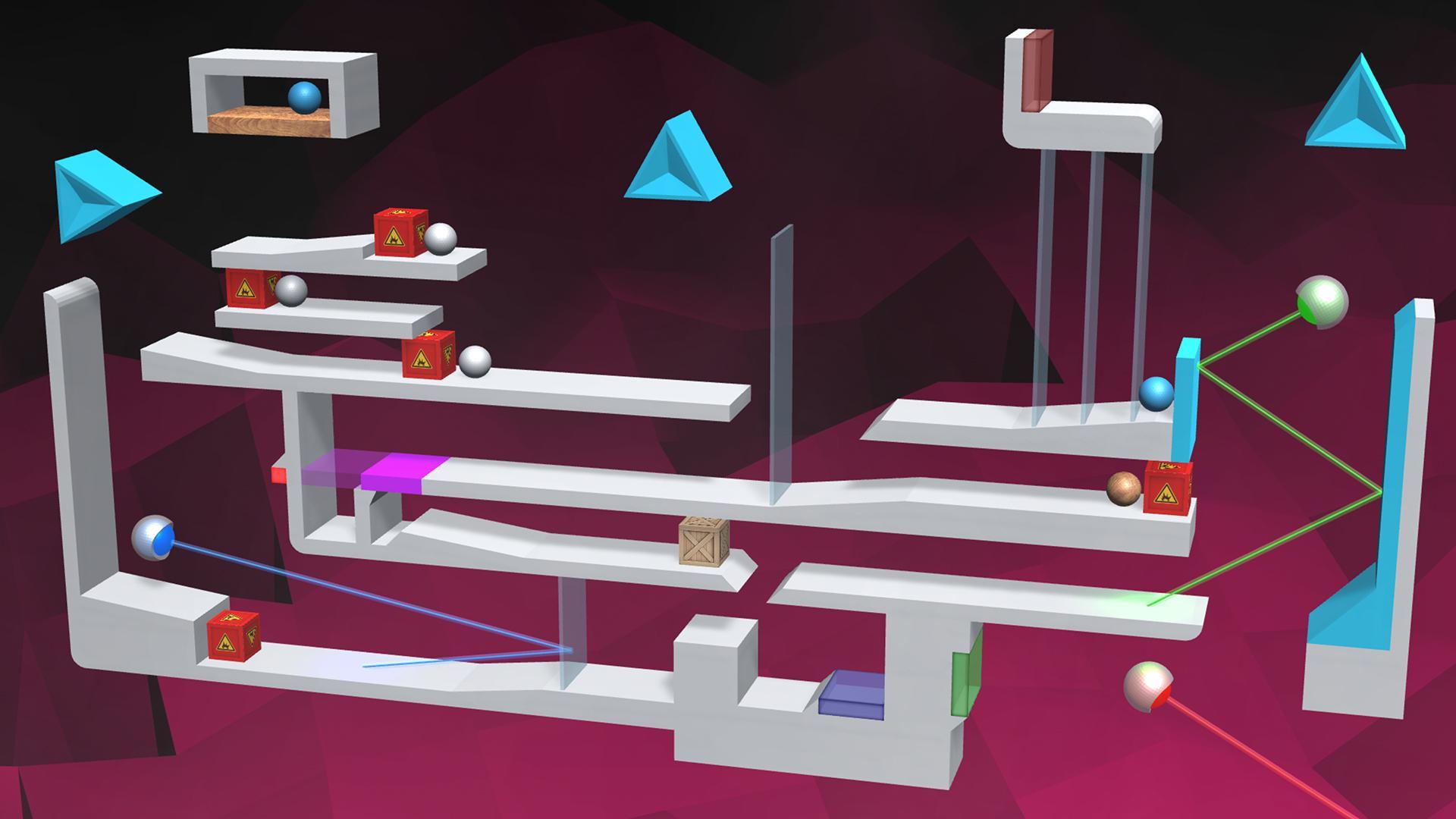 LASERBREAK 3 - Physics Puzzle screenshot 1