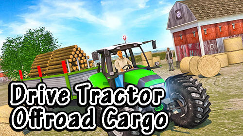 Drive tractor offroad cargo: Farming games screenshot 1