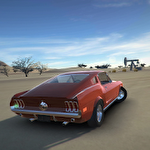 Classic american muscle cars 2 icon