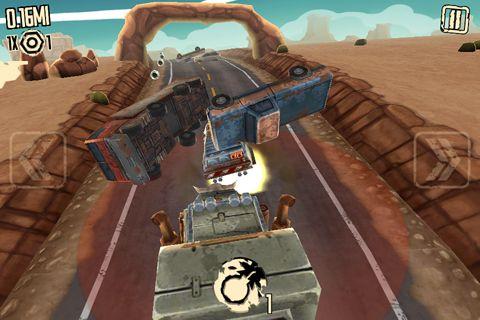 Verrückter Straßen Fahrer für iPhone